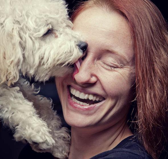 Resultado de imagen para poodle and owner