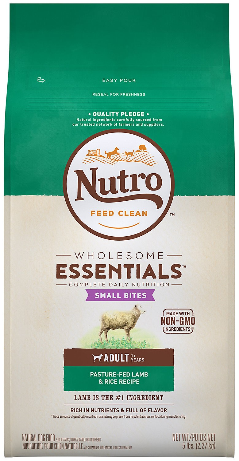 photo of the Nutro Wholesome Essentials Adult Dry Dog Food, Lamb & Rice