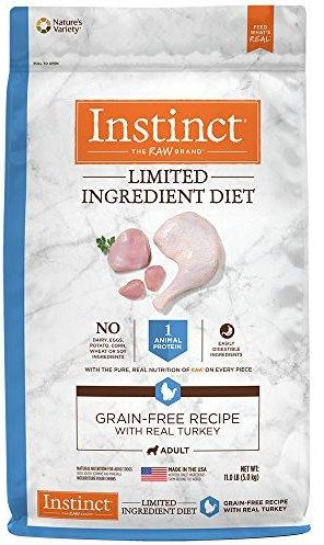 photo of the Instinct Limited Ingredient Diet Grain Free Recipe Natural Dry Dog Food by Nature's Variety