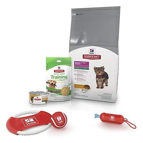 photo of the Hill's Science Diet Small & Toy Breed Dry Dog Food Puppy Kit