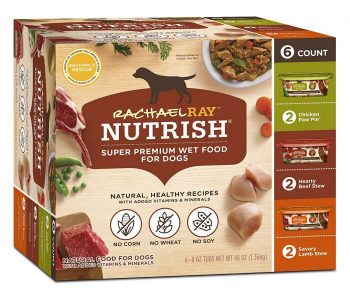photo of the Rachael Ray Nutrish Natural Wet Dog Food