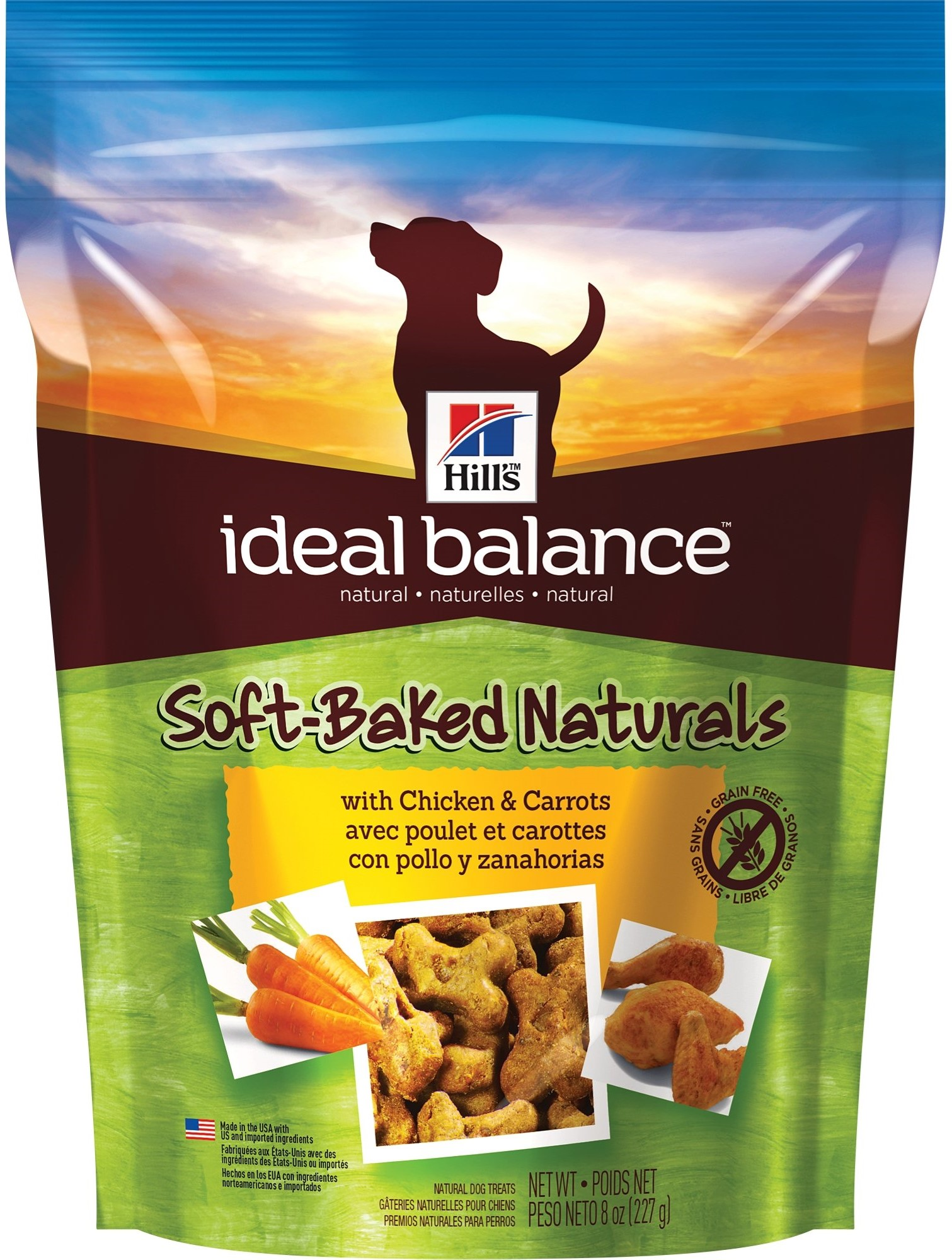 photo of the Hill's Ideal Balance Grain Free Dog Treats