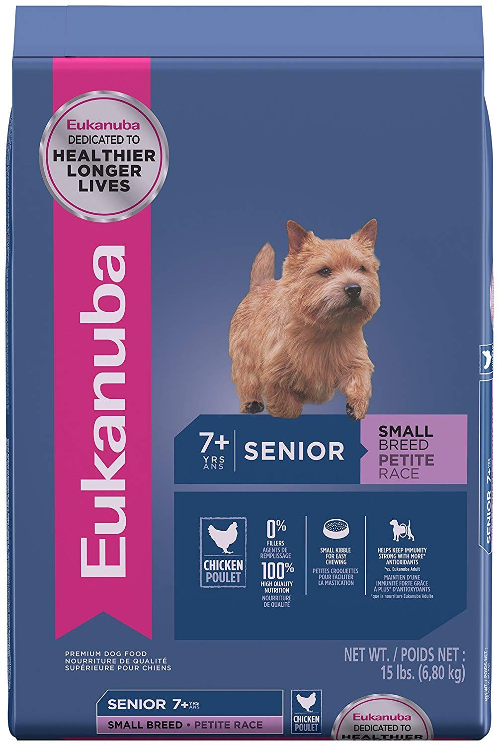 photo of the EUKANUBA Senior Dry Dog Food