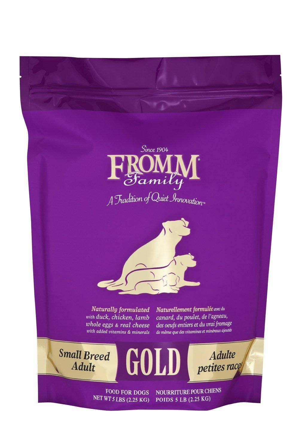 photo of the Fromm Gold Adult Dog Food Small Breed