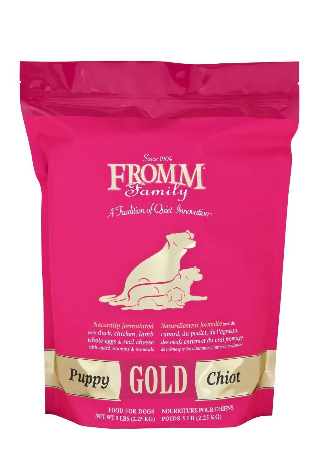 photo of the Fromm Family Foods 15 lb Gold Puppy Food
