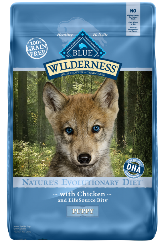 photo of the BLUE Buffalo Wilderness High Protein Grain Free Puppy Dry Dog Food