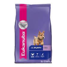 photo of the Eukanuba Small Breed Puppy Food